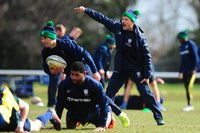 London Irish Training, London, UK - 20 Mar 2018