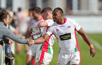 Plymouth Albion v Loughborough Students, Plymouth, UK - 12 May 2018