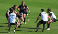 Exeter Chiefs Training, Exeter, UK - 10 Oct 2018
