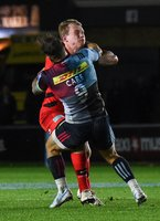 Harlequins v Saracens, Twickenham, UK - 6 Oct 2018