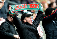 Northampton Saints v Leicester Tigers, Twickenham, UK - 06 Oct 2