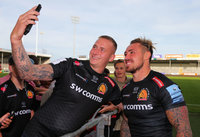 Exeter Chiefs v Sale Sharks, Exeter, UK - 15 Sep 2018