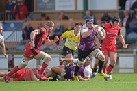 Hartpury RFC v Cornish Pirates, Hartpury, UK - 15 Sept 2018