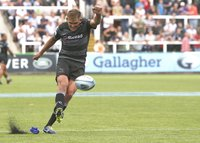 Newcastle Falcons v Saracens, Newcastle, UK - 02 Sep 2018