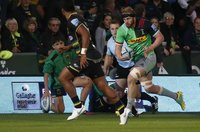 Northampton Saints v Harlequins, Northampton, UK - 07 Sep 2018