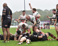 Plymouth Albion v Ampthill, Plymouth, UK -22 September 2018